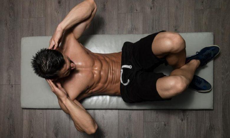 شد عضلات البطن