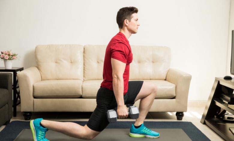 التمارين الرياضية المنزلية